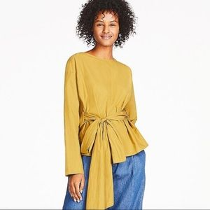 Uniqlo Wrap Top